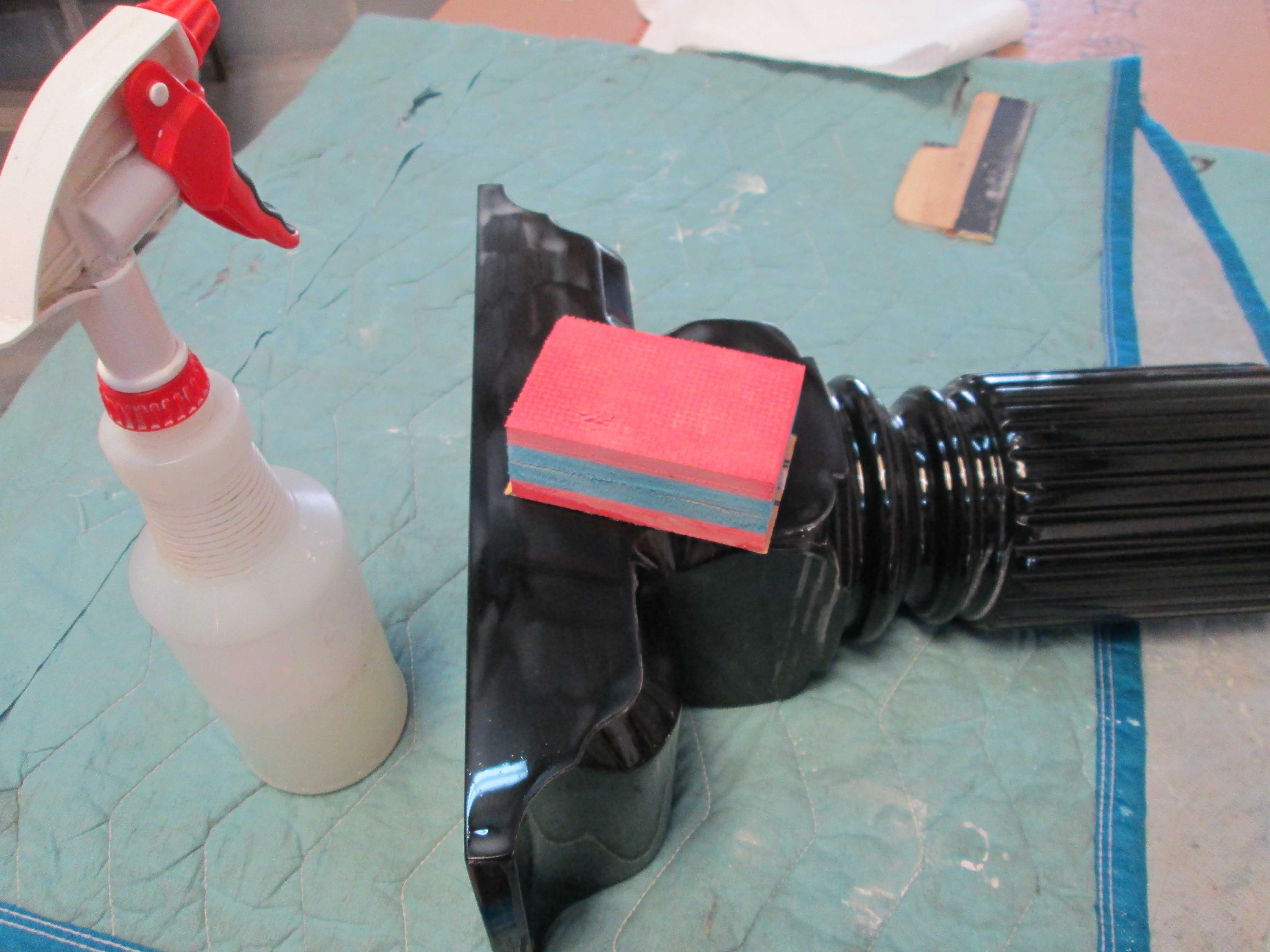 Steinway A2 Cabinet Leg, Hand Rub Finish