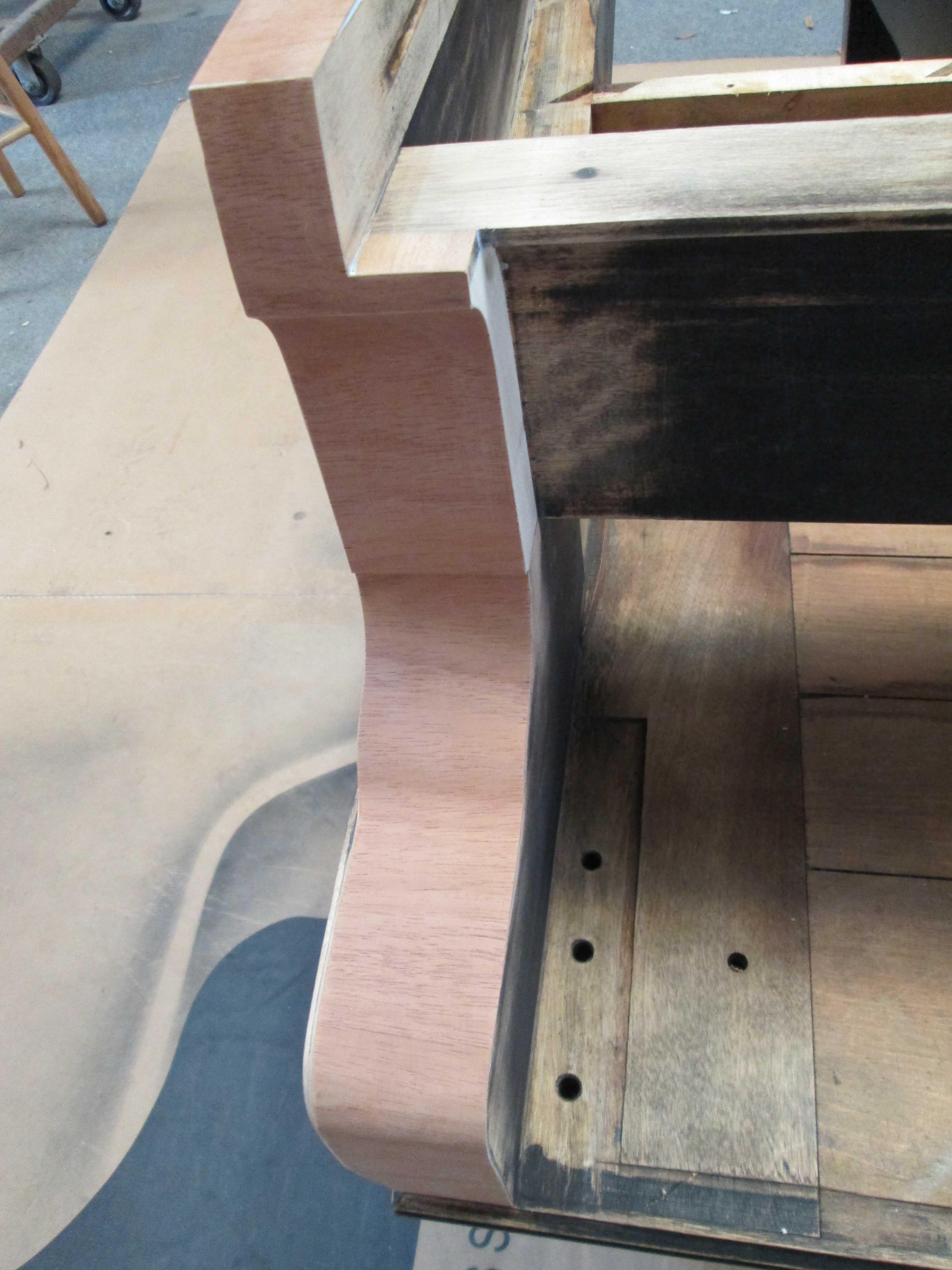 Steinway A2 Cabinet Veneer