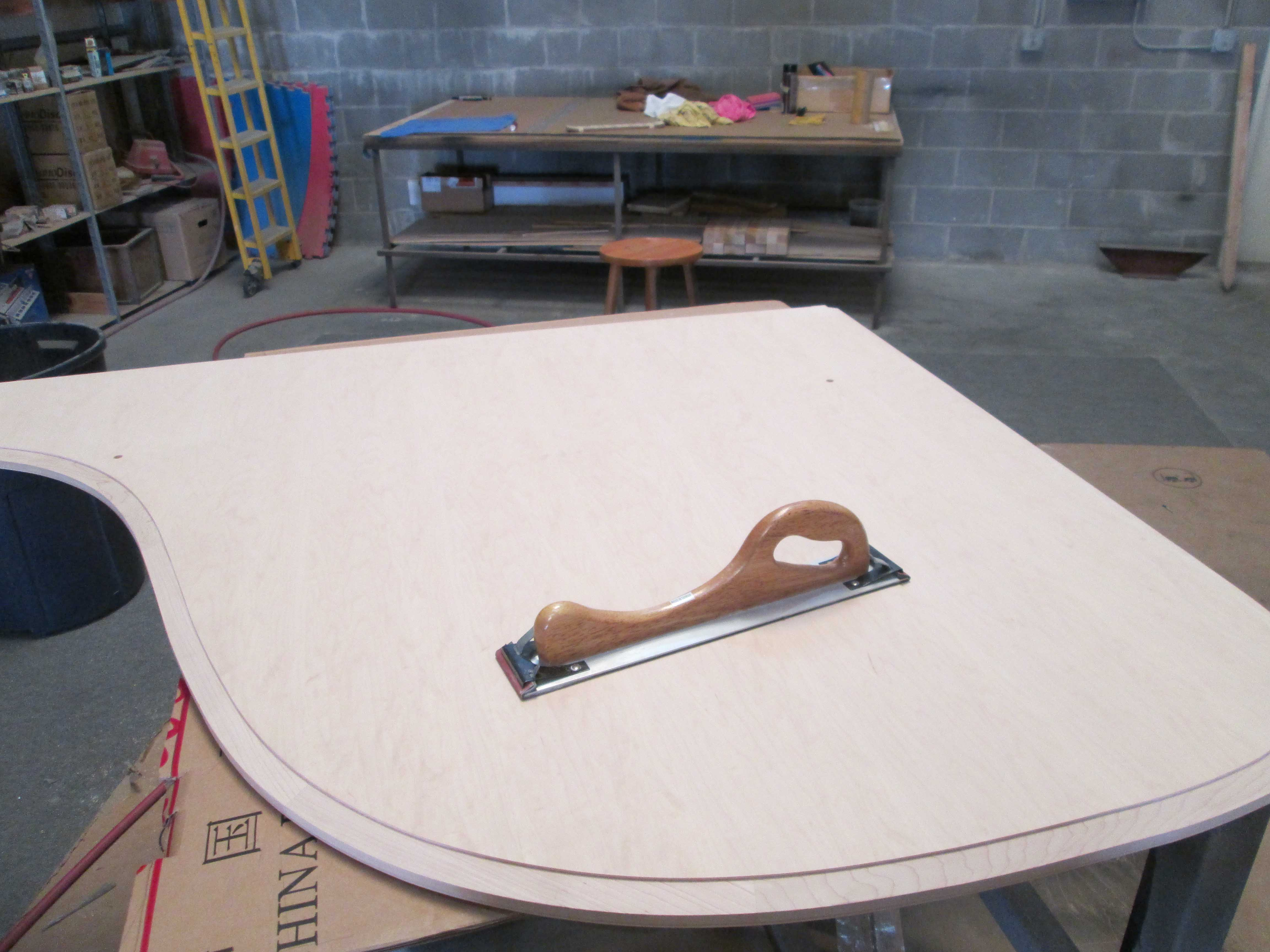 Steinway A2 New Top Lid Blank